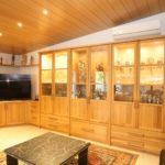 modernes riesiges Wohnmöbel aus Eiche